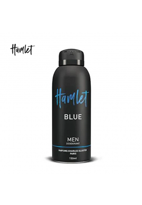 Hamlet Blue Deodorant Spray For Men..