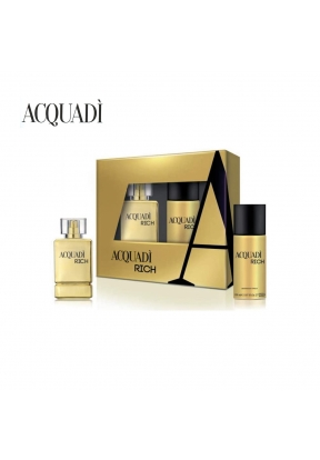 AcquaDì Rich Set for Men: 100ml Eau..
