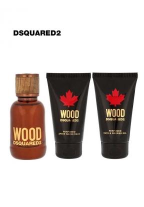 DSQUARED2 Wood Set for Men: 50ml Ea..