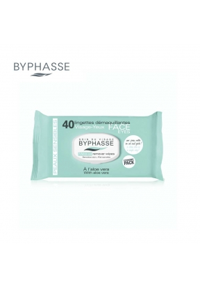Byphasse Makeup Removing Wipes Aloe..