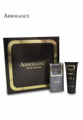 Arrogance Pour Homme Set for Men: 3..