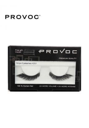 Provoc Stripe Eyelashes 4251 + Free..
