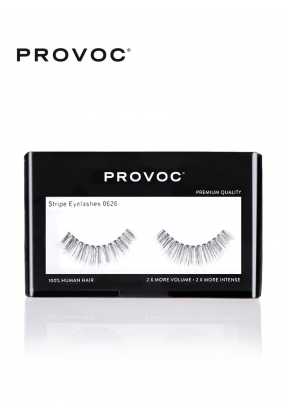 Provoc Stripe Eyelashes 0626..