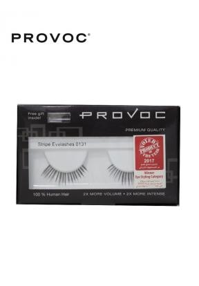 Provoc Stripe Eyelashes 0131 + Free..