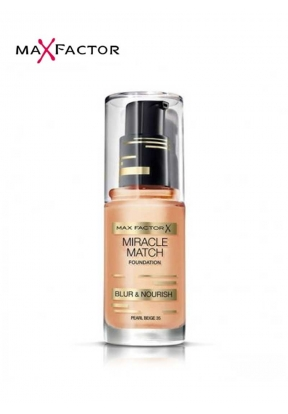 Max Factor Miracle Match Foundation..