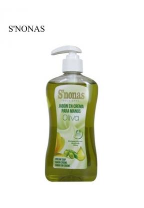 Snonas Cream Hand Soap Oliva 500ml..
