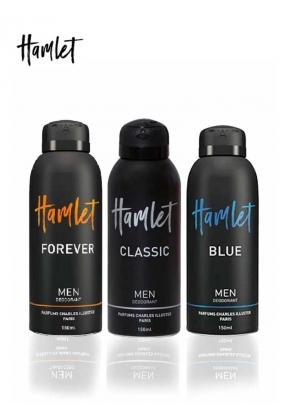 Hamlet Men's Deodorant Set: Blue De..