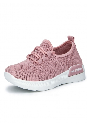Pink Casual Breathable Comfortable ..
