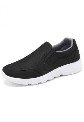 Black Sport Casual Slip-on Men's Sn..