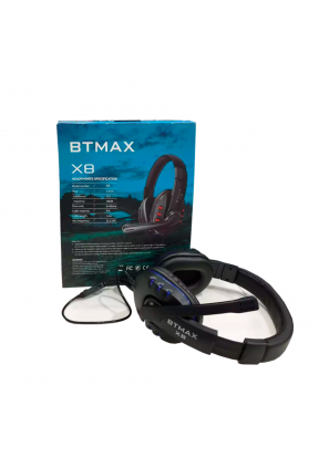 BT5 Stereo Wired Gamming Headphone ..