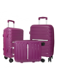 ABS Hard-Shell Carry On Built-in Wh..