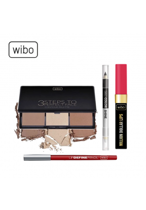 Wibo Full Face Makeup Set: 3Steps t..