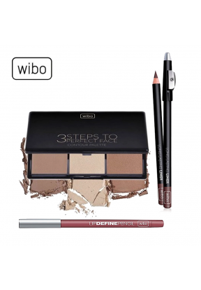 Wibo Face Makeup Set: 3 Steps to Pe..