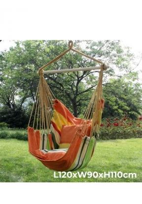 Garden Swing Soft Cushioned Rope Ha..