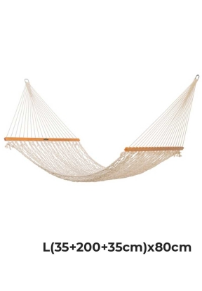 Cotton Mesh Rope Hammock L(35 + 200..