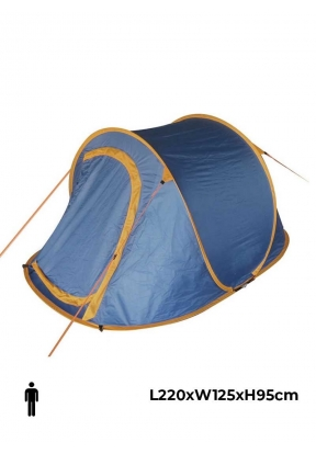 Single Layer Outdoor Pop-up Tent 1-..