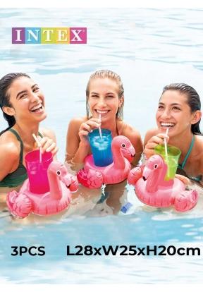 Intex Flamingo Drink Holder Set 575..