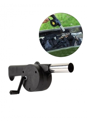 Barbecue Hand Crank Fan Air Blower ..