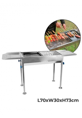 Portable Barbecue Grill Stainless S..