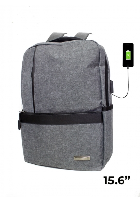 15.6-Inch Backpack With USB Chargin..