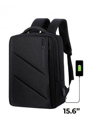 15.6-Inch Travel Laptop Backpack Bu..