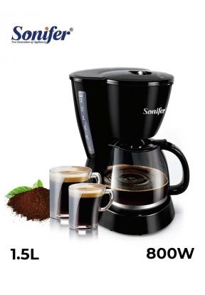 Sonifer 800W 1.5L Drip Coffee Maker..
