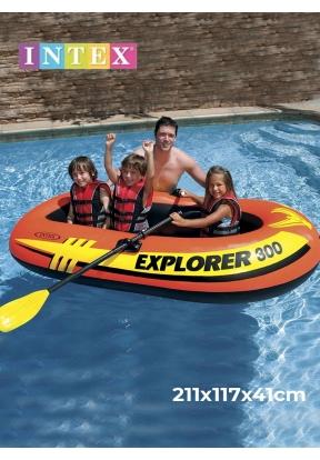 Intex 58332NP Explorer 300 Boat Se..