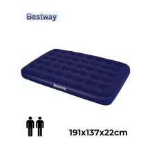 Bestway 67002 Double Mattress Blue ..