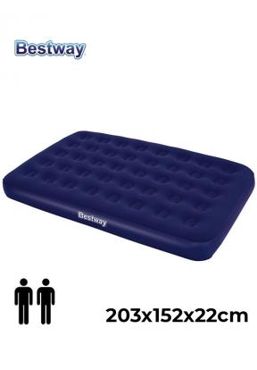Bestway 67003 Double Mattress Blue ..