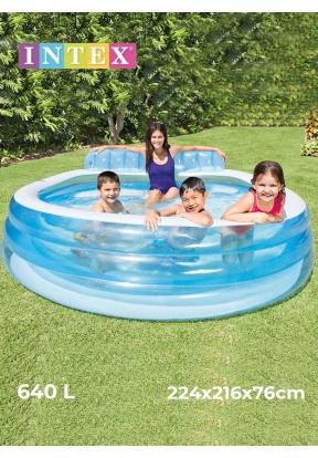 Intex 57190 Swim Center Inflatable ..