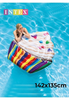 Intex 58770 Inflatable Cupcake Mat ..