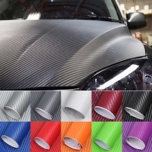 3D Carbon Fiber Car Sticker..
