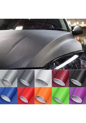 3D Carbon Fiber Car Sticker Waterpr..
