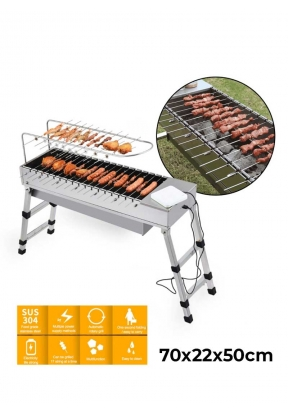 Automatic Rotary-Skewers Charcoal B..