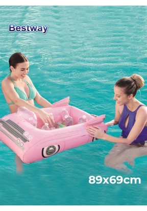 Bestway 43164 Inflatable Pink Party..