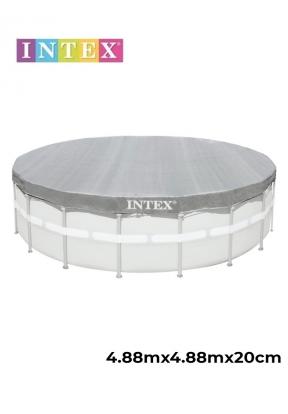 Intex 28040 Deluxe Pool Cover (Diam..