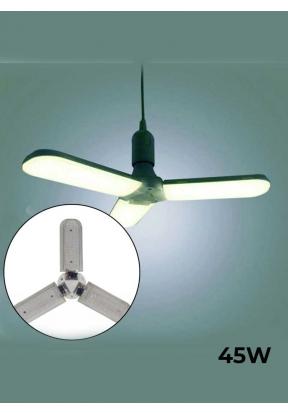 45W Foldable Fan Blades LED Bulb - ..