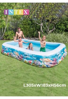 Intex 58485 Swim Center Tropical Co..