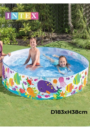 Intex 56452 Ocean Play Snapset Pool..