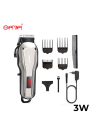 Geemy GM-6135 3W Rechargeable Men H..
