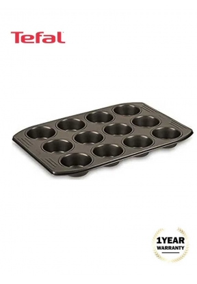 Tefal Easy Grip Gold - Muffins Tray..