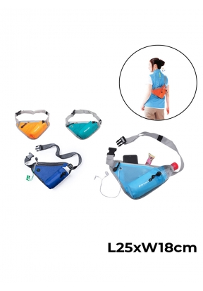Sports Waist Bag With Water Bottle ..