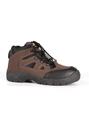 Steel Toe Cap Men Leather & Textile..