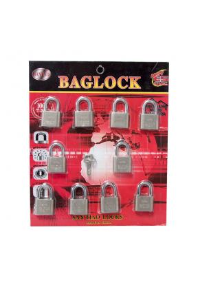 Metal Disc Lock Mechanism Bag Lugga..