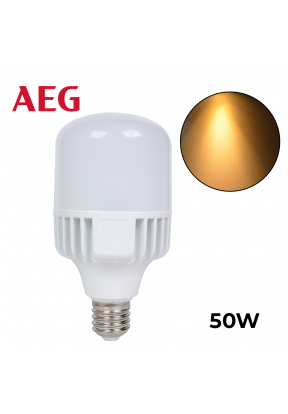 AEG LED Bulb 50W Warm Light - E27..