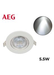 AEG LED Spot With White Rotatable R..