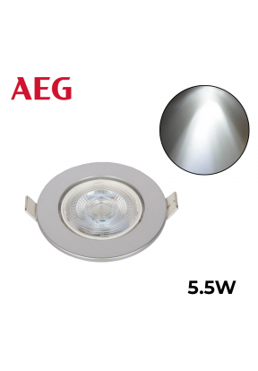 AEG LED Spot With Silver Rotatable ..