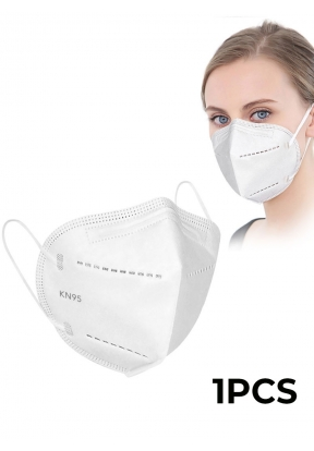 White Disposable Face Mask KN95..