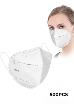 White Disposable Face Mask KN95 - 5..