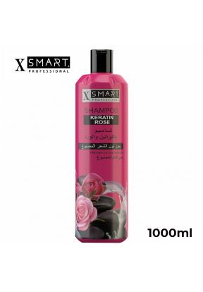 Xsmart Shampoo Keratin & Rose - 100..